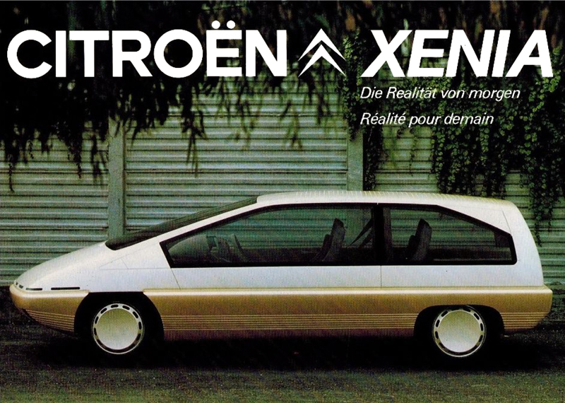 1981 Citroen Xenia concept.
