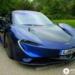Fotos Mclaren Speedtail Azul