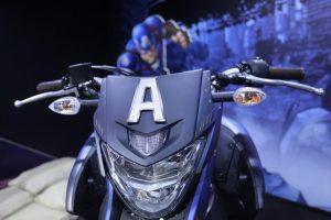 Motos Yamaha da Marvel