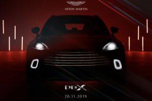 Fotos Aston Martin DBX: 542bhp SUV