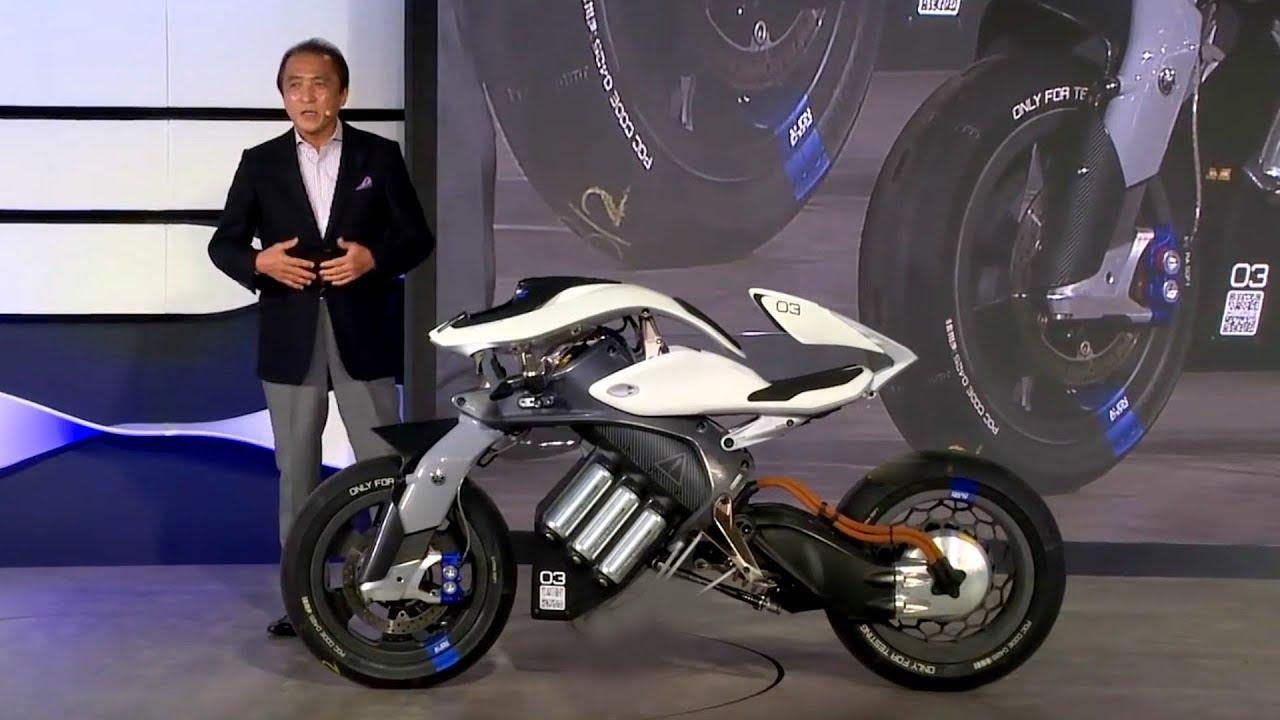 Fotos da Yamaha Motoroid