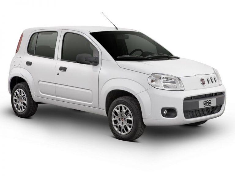 Fiat - UNO VIVACE Celeb. 1.0 EVO F.Flex 8V 5p - 2014 - Gasolina - uno-2014