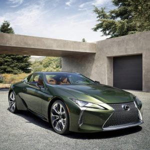 Fotos do novo Lexus LC 500 Verde