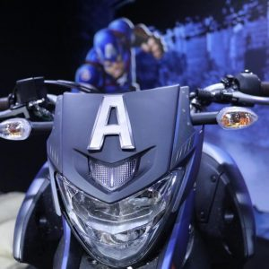 Motos Yamaha da Marvel